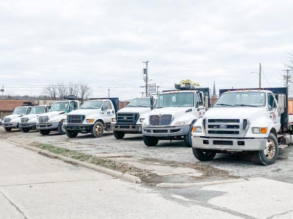 Horizon Supply Company's Fleet Of Delivery Vehicles